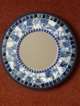 Willow Pattern Mirror