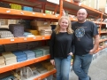 Kate & Joe at Mosaic Heaven are my regular suppliers. They really got on board with this project and contributed a tremendous amount.