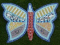 The Butterfyl is completed - we have our first mosaic.